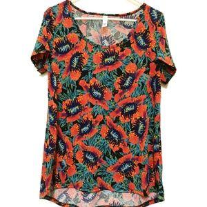 NEW LuLaRoe 3XL Classic T Tropical Shirt